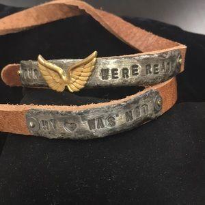 Your wings were read my heart was not bracelet